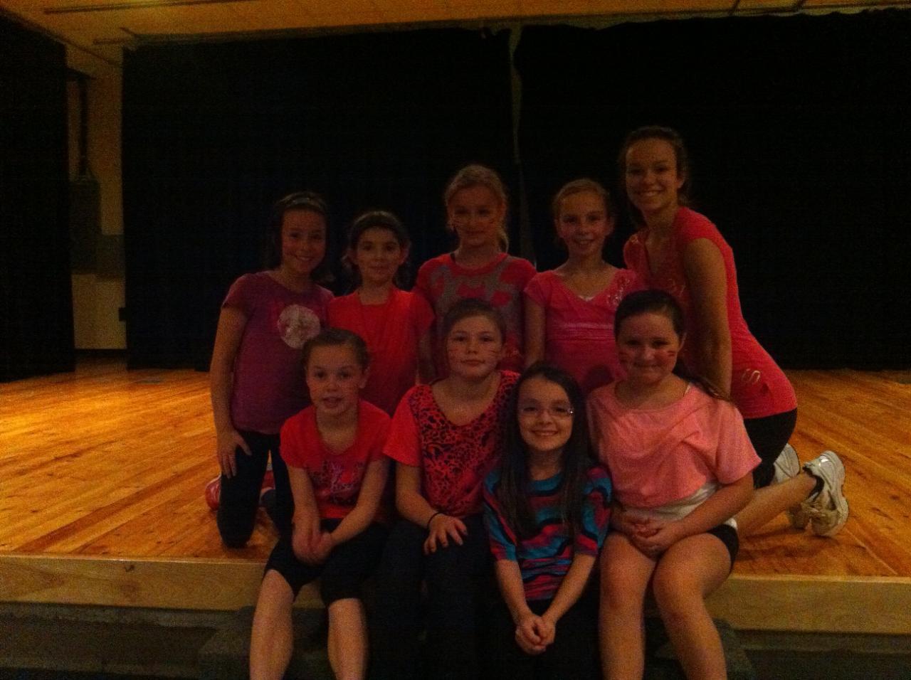 Groupe Danses variées  Hiver 2013