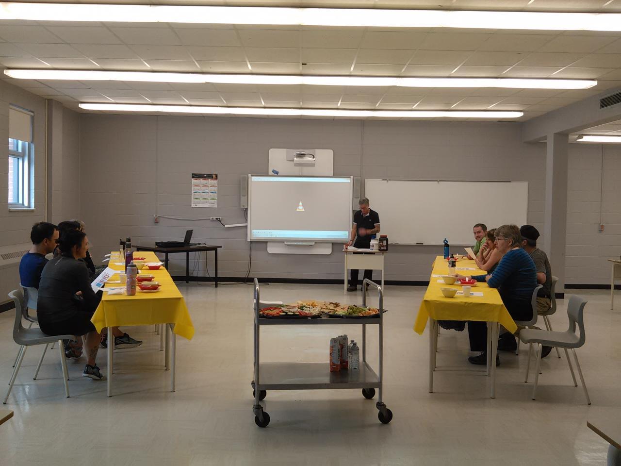 Atelier étiquette et produits nutrition