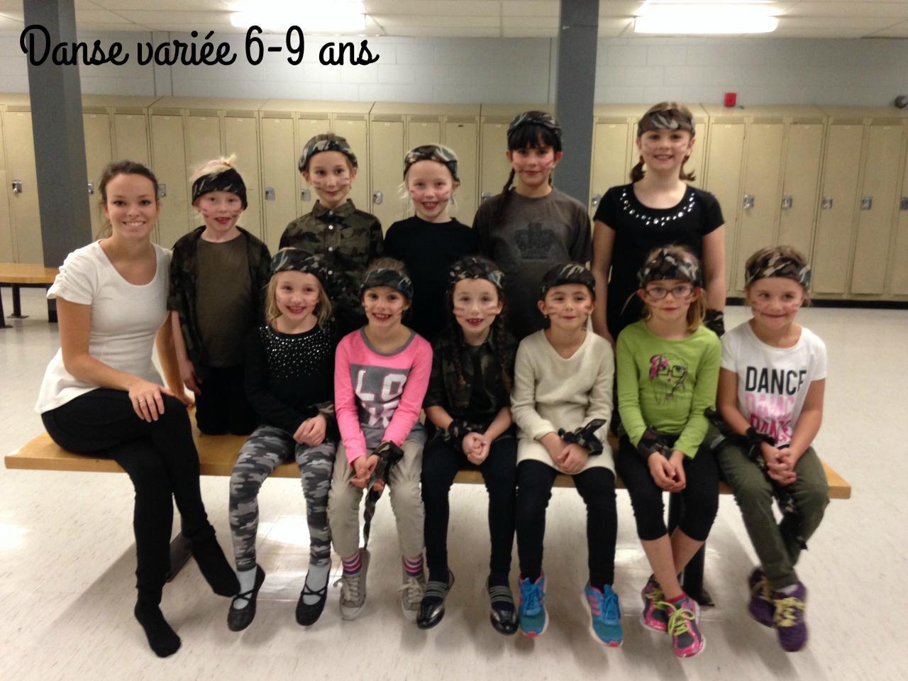 Danse varieé 6-9 ans