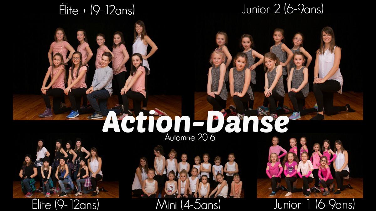 Groupes Action-Danse Automne 2016