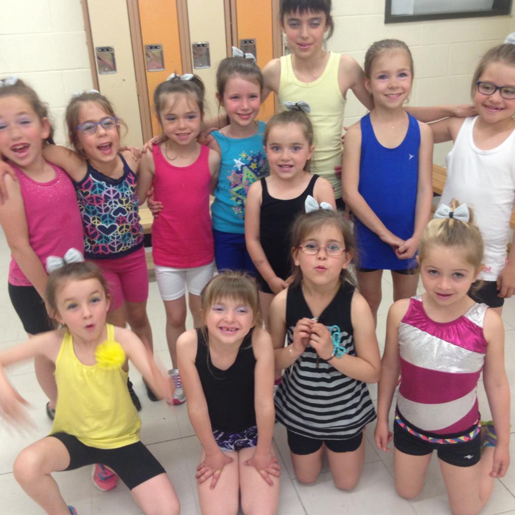 Groupe danses variées