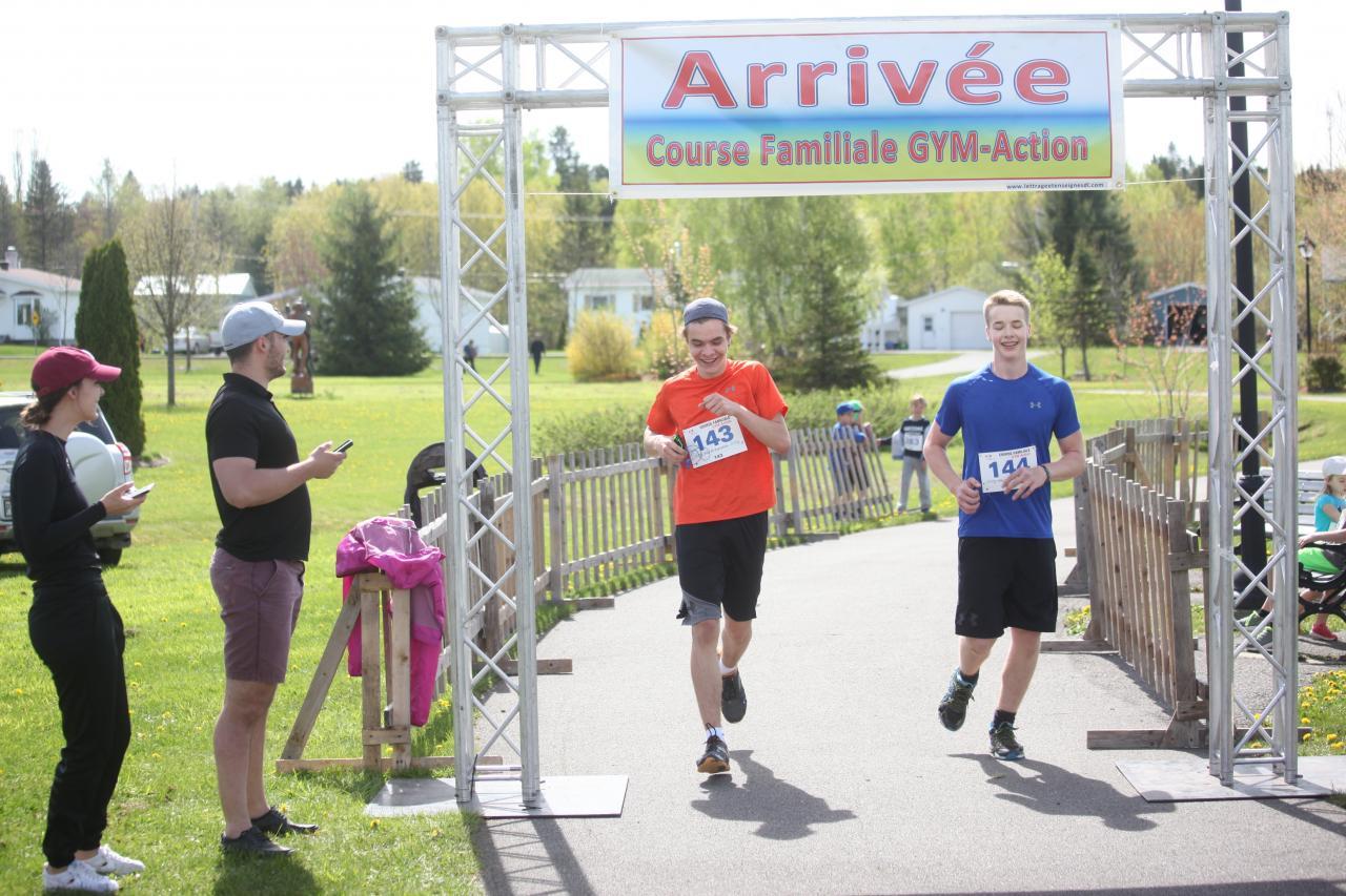 Jérémi Leblerc et Louis-Daniel Miville (5 km)