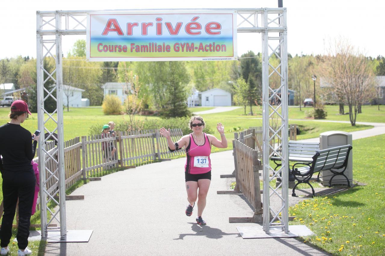 Michelle Leblanc (5 km)