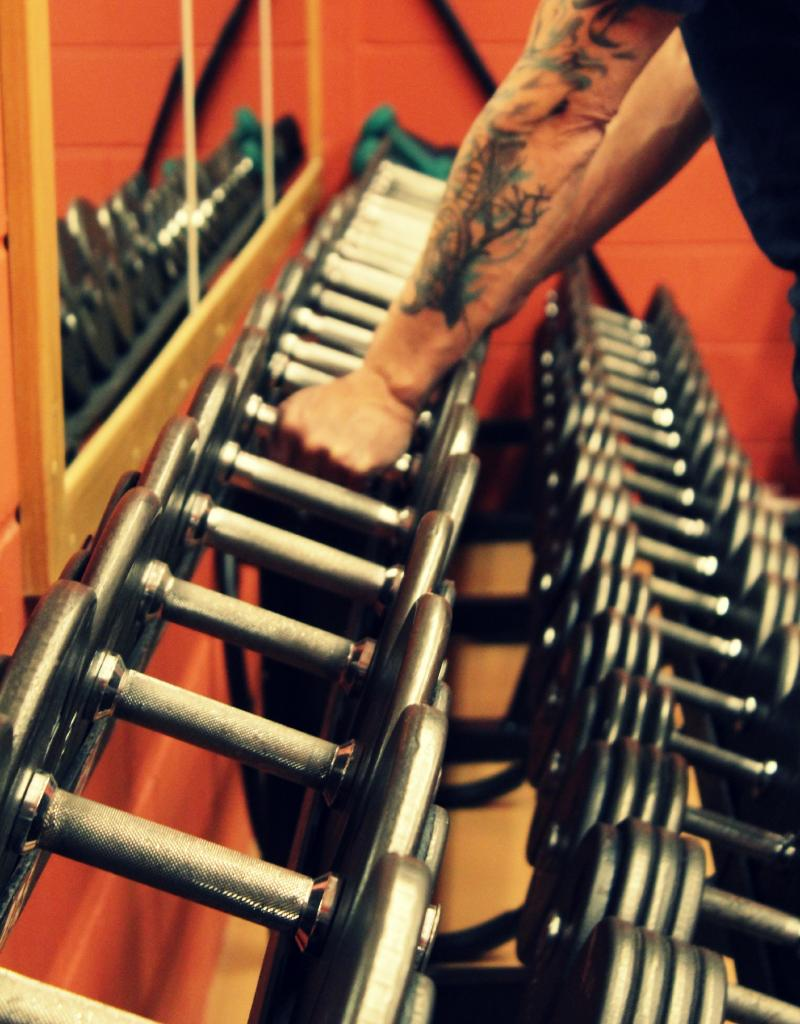 Salles des poids libres
