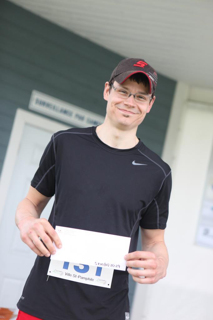 Dany Bernier 5 km 20-29 ans