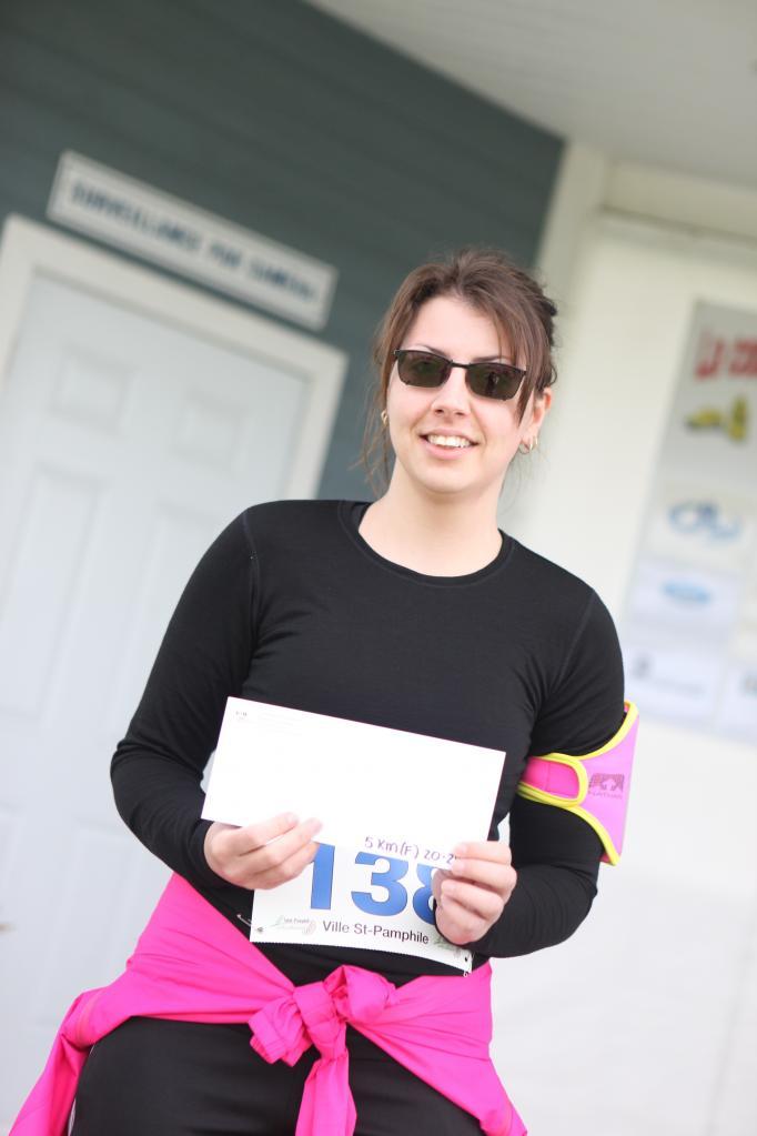 Joanie Pelletier 5 km 20-29 ans