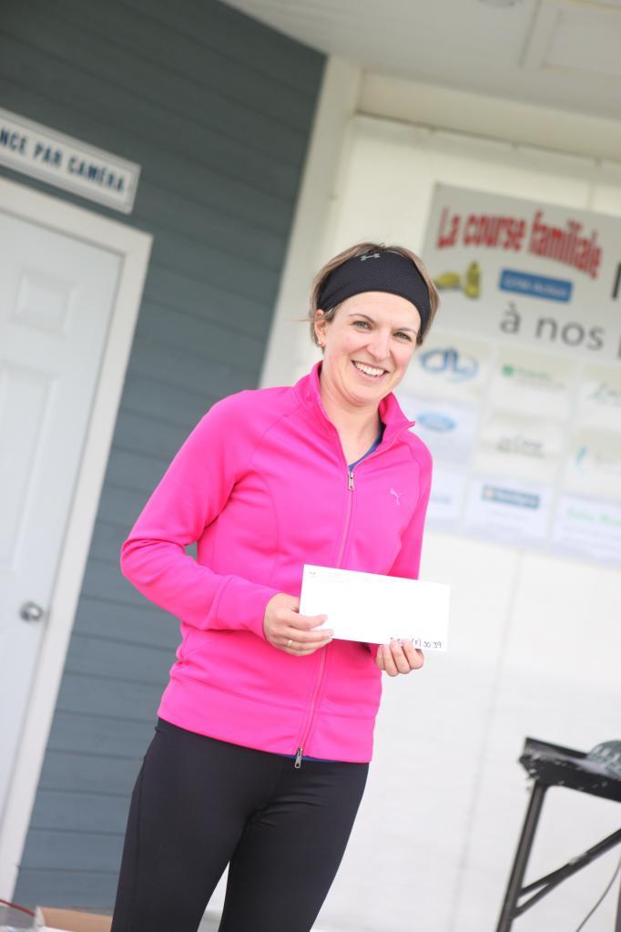 Chantal Chouinard 5 km 30-39 ans