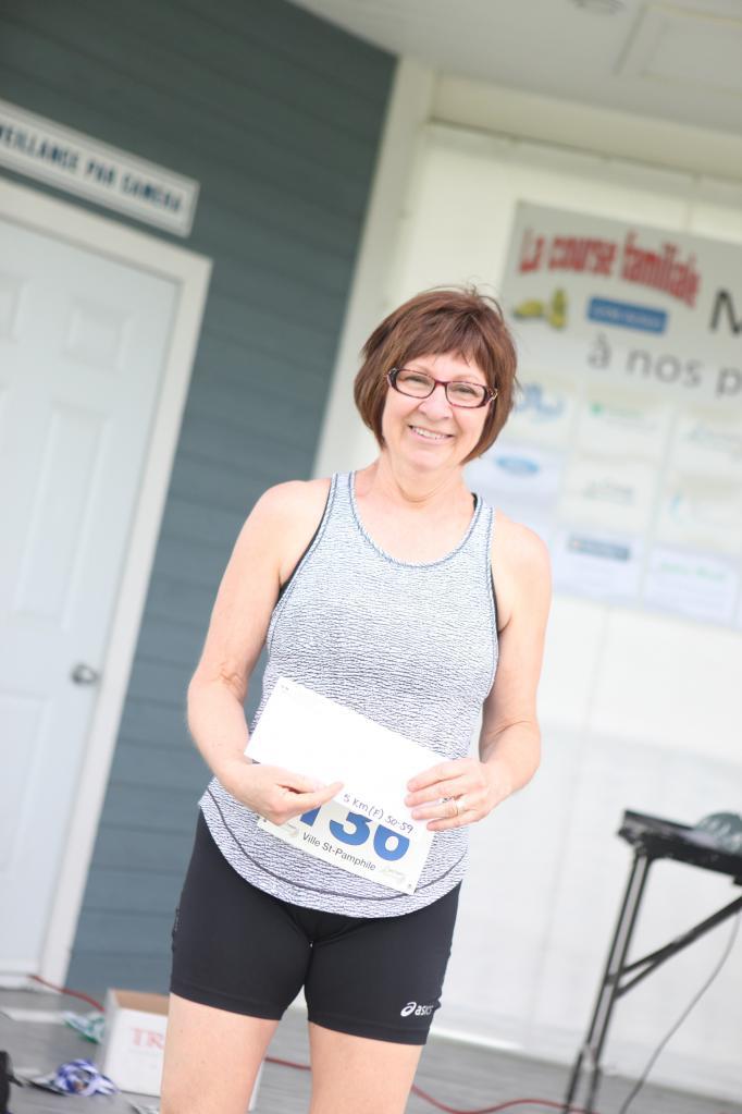 Lorraine Cloutier 5 km 50-59 ans