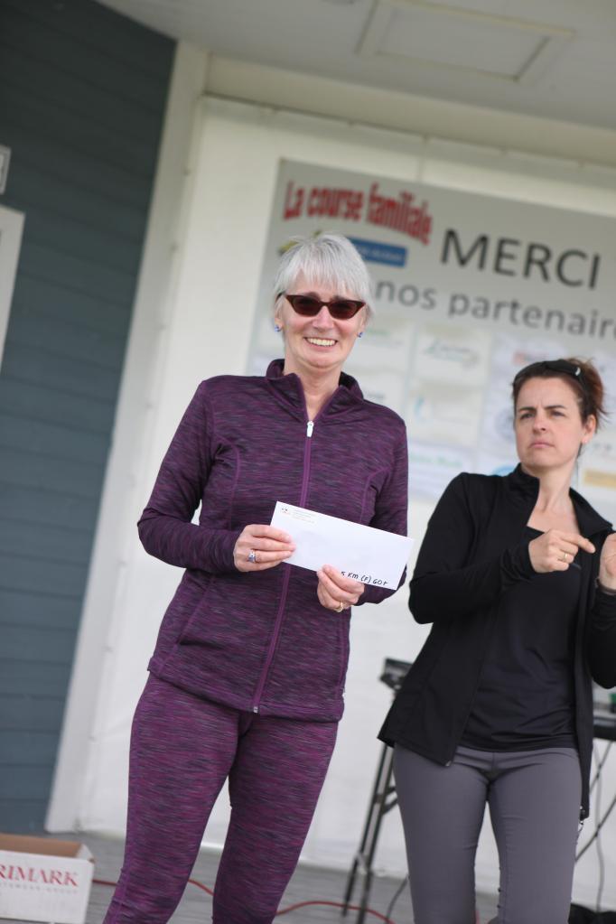 Lisette Bernier 5 km 60 ans et +