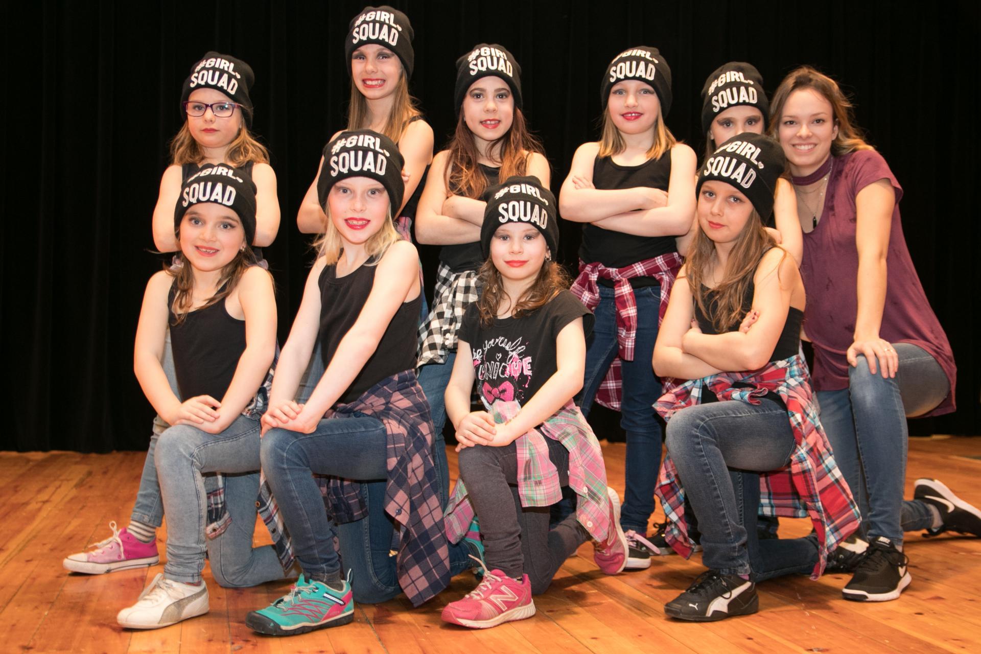 Danse Junior groupe 2 Hiver 2018