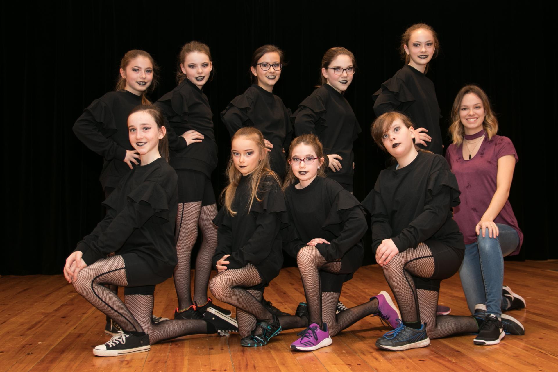 Danse Élite groupe 2 Hiver 2018