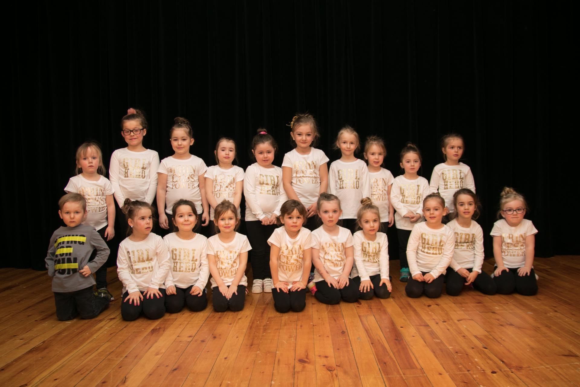 Danse mini groupes 1 et 2 Hiver 2018